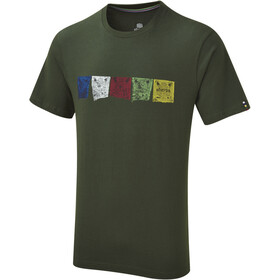Sherpa Tarcho t-shirt Heren groen